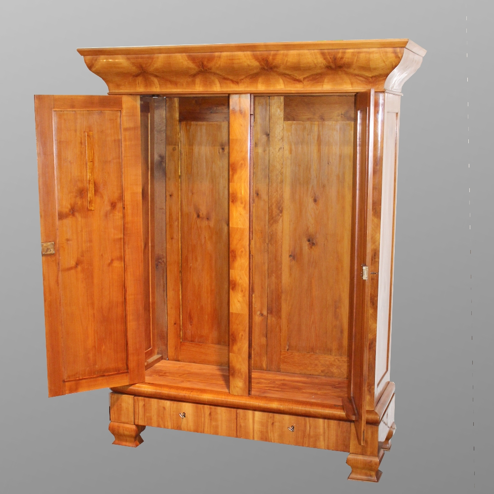zweit riger schrank mit schubladen. Black Bedroom Furniture Sets. Home Design Ideas