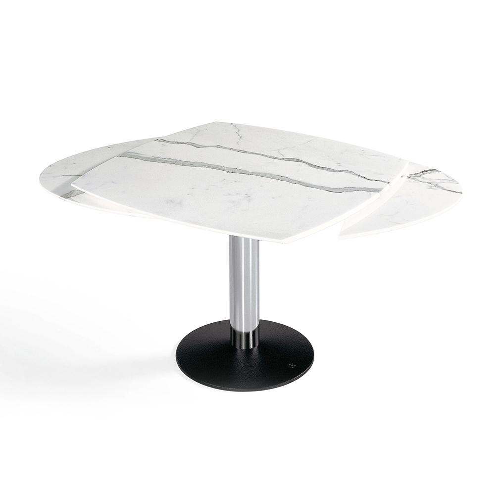 ovale esstische zum ausziehen esstische loretta tisch. Black Bedroom Furniture Sets. Home Design Ideas